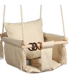 bezpieczna huśtawka dla niemowląt